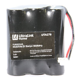 UltraLink Cordless Phone Battery for Sanyo 900MHz - UTA276