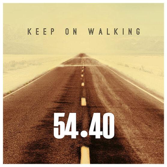 54-40 - Keep On Walking - CD