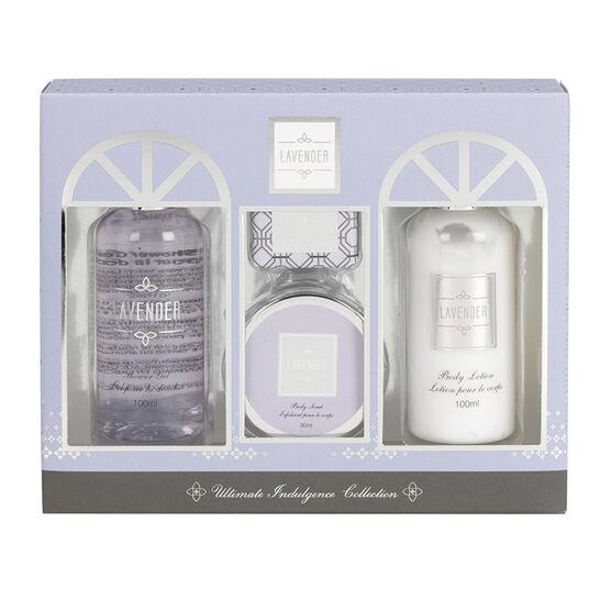 Signature Beauty Bath Set - Lavender - 4 piece