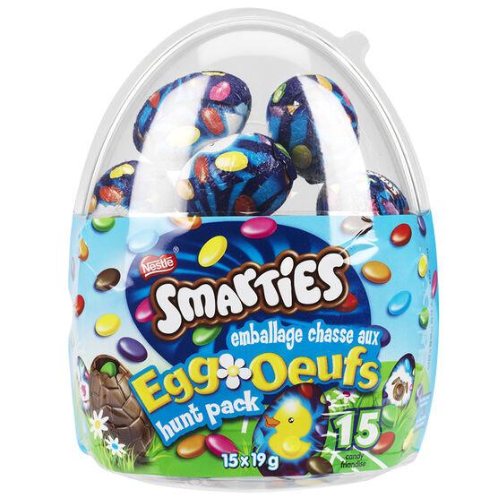 Nestle Smarties Egg Hunt Pack - 15x19g