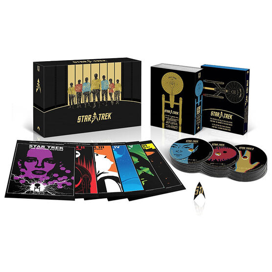 Star Trek: 50th Anniversary TV and Movie Collection - Blu-ray
