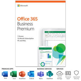 Microsoft Office 365 Business Premium - 1 Year Subscription