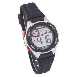 Cardinal Ladies Sport Watch - Black - 3503