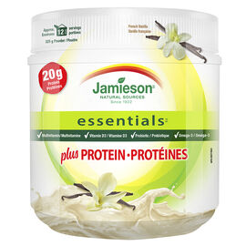 Jamieson Essentials Plus Protein - French Vanilla - 325g