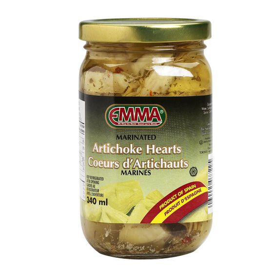 Emma Marinated Artichoke Hearts - 340ml | London Drugs