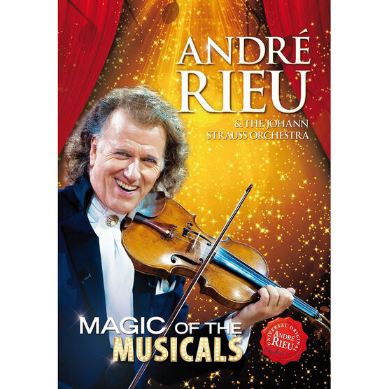 Andre Rieu: Magic of the Musicals - DVD