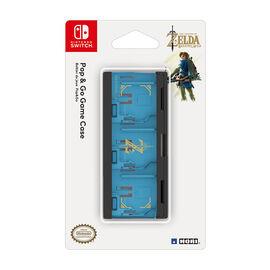 Hori Pop and Go Game Case for Nintendo Switch - Legend of Zelda - Blue/Black