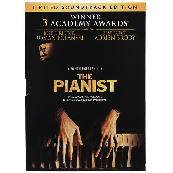 The Pianist (Limited Soundtrack Edition) - DVD
