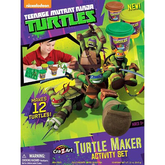 Turtle Dough Mold and Play Activity Set - Assorted