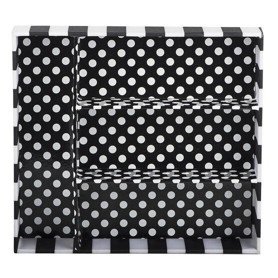 Modella 4 Section Organizer Tray - Black & White - R000136LDC