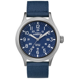 Timex Scout Metal Watch - Blue/Tan - TW4B07000GP