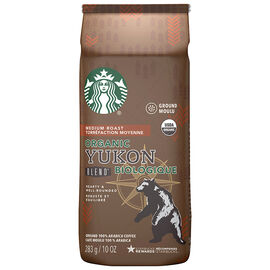 Starbucks Organic Yukon Blend Coffee - Ground - 283g