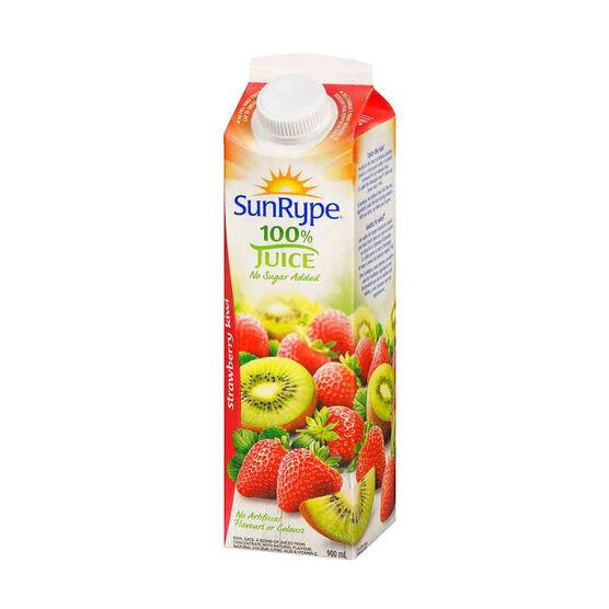 SunRype Fruit Juice - Strawberry Kiwi - 900ml