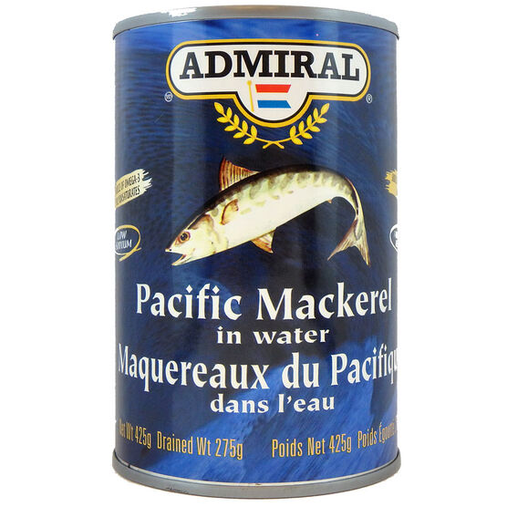 Admiral Pacific Jack Mackerel in Water - 425g