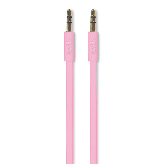 Logiix Flat Flex Auxiliary Cable - Limited Edition - Rose - LGX12217