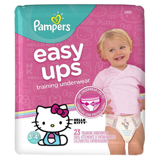 Pampers Easy Ups Training Underwear - 3T/4T - 23ct - Girls
