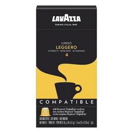 Lavazza Nespresso© Pods - Lungo Leggero 4 - 10 Pack