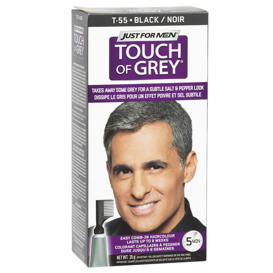 Just for Men Touch of Grey Hair Colouring - Black Grey | London Drugs