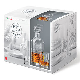 Bormioli Rocco Officina Whisky Set - 7 Piece