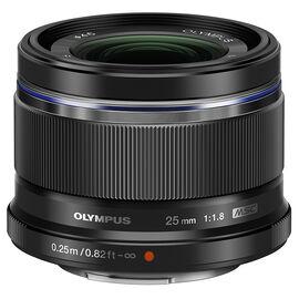 Olympus 25mm F1.8 Lens - Black - V311060BU000