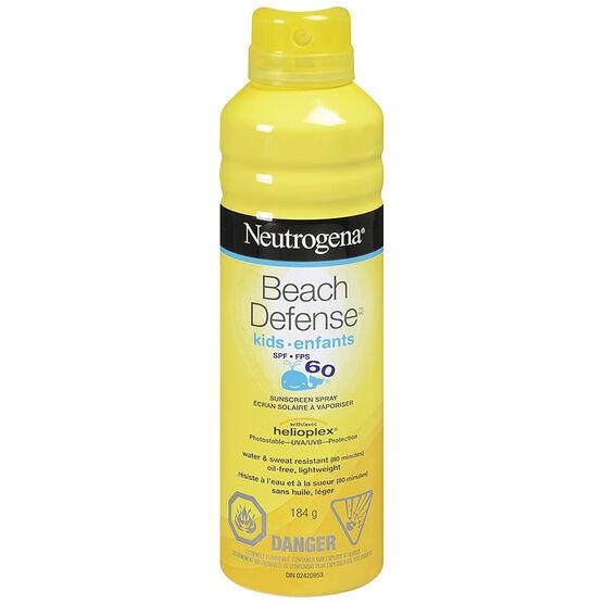 Neutrogena Beach Defense Kids Sunscreen Spray SPF60 - 184g