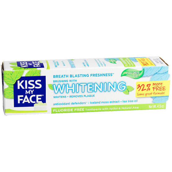 Kiss My Face Whitening Toothpaste - 127.6g