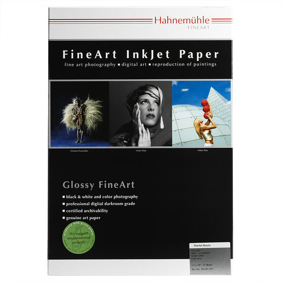 Hahnemuhle FineArt Baryta 325gsm - 13 x 19inch - 25 sheets
