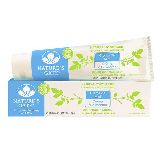 Nature's Gate Natural Toothpaste - Creme de Mint - 170g