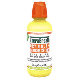 TheraBreath Dry Mouth Oral Rinse - Tingling Mint - 473ml