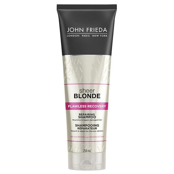 John Frieda Sheer Blonde Flawless Recovery Repairing Shampoo - 250ml