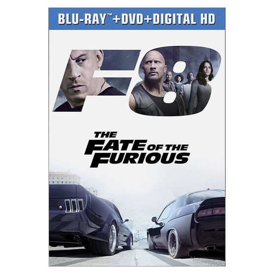 The Fate of the Furious - Blu-ray