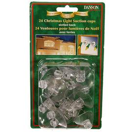 Danson Christmas Light Suction Cups - 24 pack