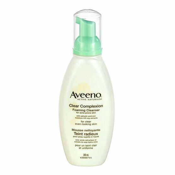 Aveeno Clear Complexion Foaming Cleanser - 180ml
