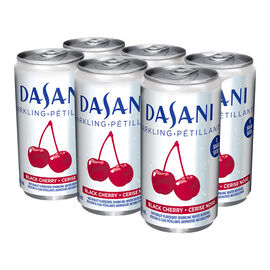 Dasani Sparkling Water - Black Cherry - 6x222ml