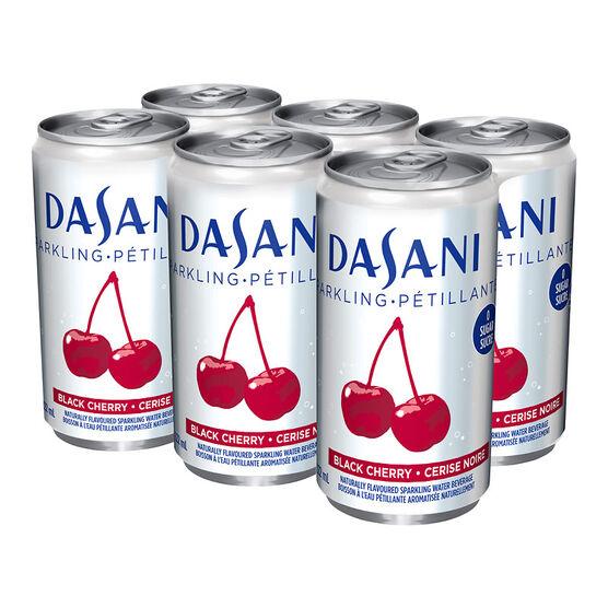 Dasani Sparkling Water - Black Cherry - 6x222ml