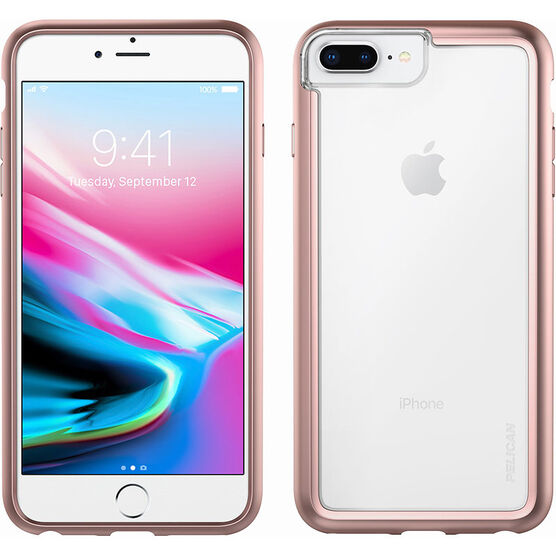 Pelican Adventurer Case for iPhone 6/6s/7/8 - Rose Gold - PNADVIP77CLRGD