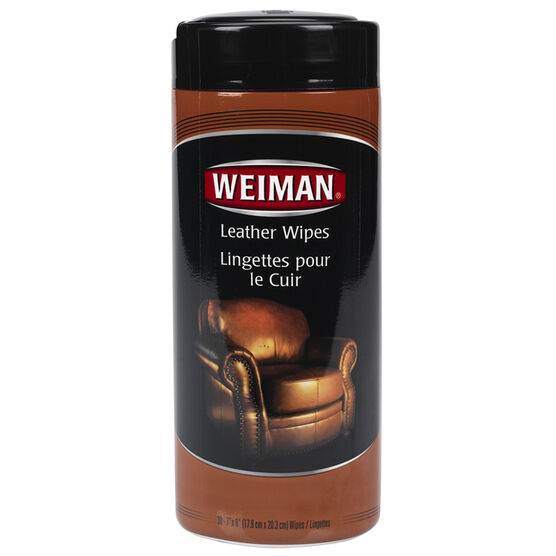 Weiman Leather Wipes - 30's