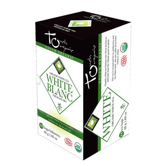 Touch Organic White Tea - 24's