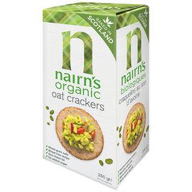 Nairns Organic Oat Crackers - 250g