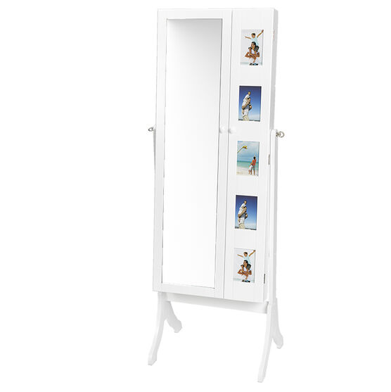 London Drugs Ava Jewellery Cabinet - White