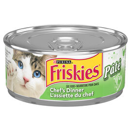 Friskies Wet Cat Food - Pate Chef's Dinner - 156g