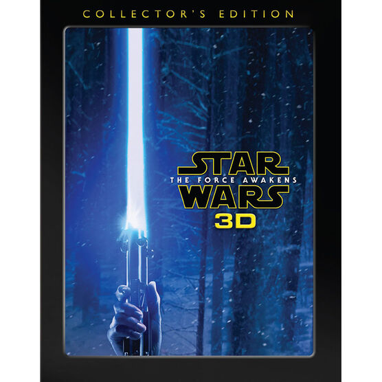 Star Wars: The Force Awakens - Collector's Edition - 3D Blu-ray