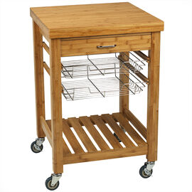 London Drugs Kitchen Trolley - Bamboo