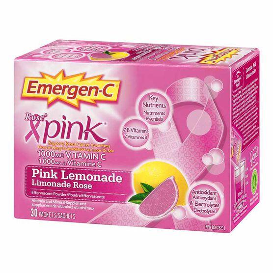 Emergen-C - Pink Lemonade - 30's