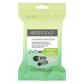 EcoTools Makeup Brush Cleansing Cloths - 25s