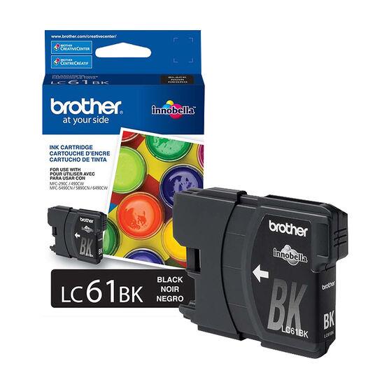 Brother LC61BKS Ink Cartridge - Black