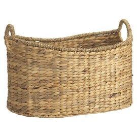 London Drugs Water Hyacinth Basket with Handles - Oval