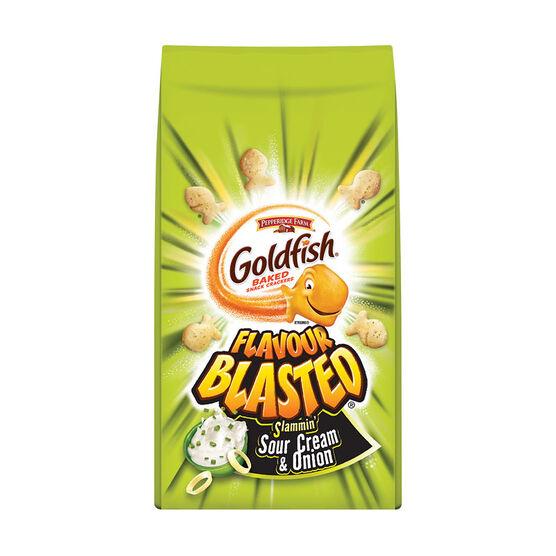 Pepperidge Farm Goldfish Crackers - Sour Cream & Onions - 180g