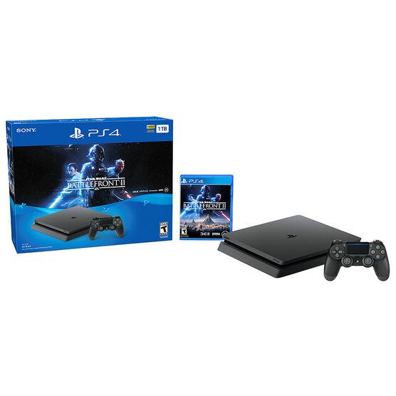 PS4 1TB Hardware Bundle - Star Wars Battlefront 2 - CUH-2115B