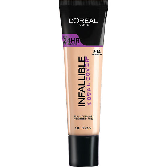 L'Oreal Infallible Total Cover Foundation - Natural Buff